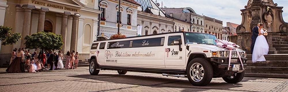 Prenájom limuzíny Nitra