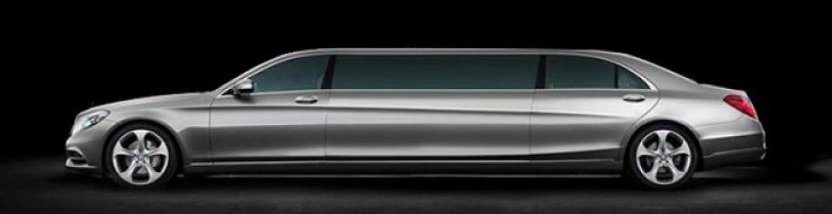 Limuzína na prenájom Mercedes S
