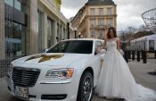 moja svadba, svadobné šaty, svadobná kytica, limuzína