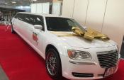 svadobná limuzína, svadobná výzdoba, tip na svadobný dar
